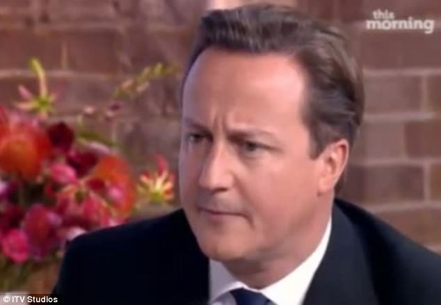 The Prime Minister was visibly taken aback by the stunt and accused the ITV show of fuelling a 'witch-hunt'