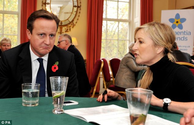 Mr Cameron had agreed to appear on This Morning to talk about dementia, including an event held at Downing Street where he discuss the issue with TV presenter Fiona Phillips
