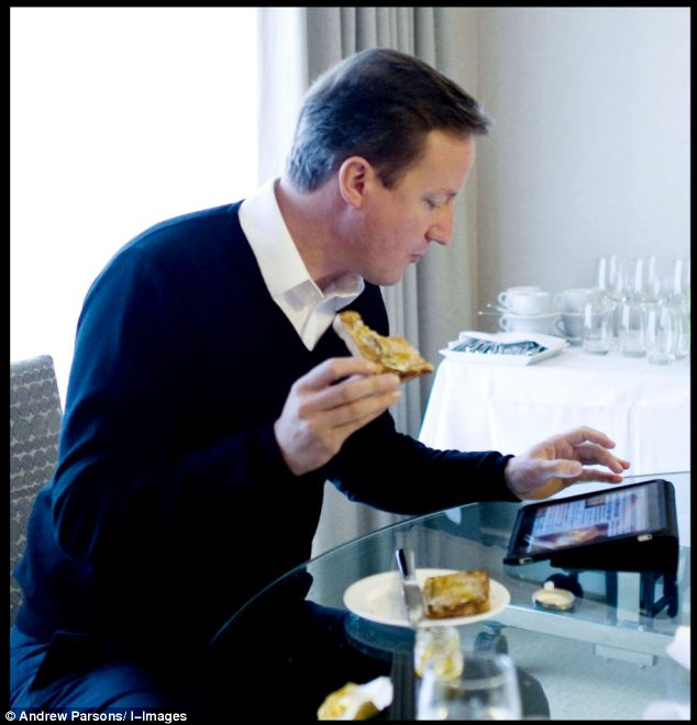 The Prime Minister is testing a 'Number 10 Dashboard' app to help him keep on top of Government business.