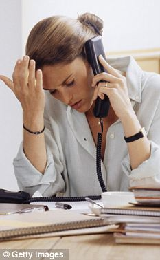 Stressed: One client had been charged £3,300 in up-front fees alone