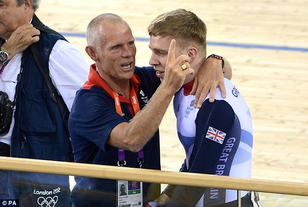 On the mend: British Cycling's head coach Shane Sutton should make a full recovery after being knocked off his bike in Manchester