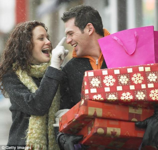 Gift wrapped: One in six couples admit to arguing over a poor choice of present