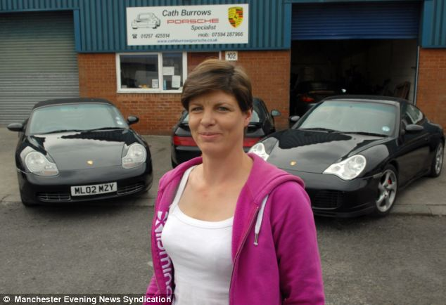 Porsche garage owner Cath Burrows, who knocked Bradley Wiggins off his bike on Wednesday night, was heard saying: 'What have I done? Oh my God, I've just knocked over Bradley Wiggins'