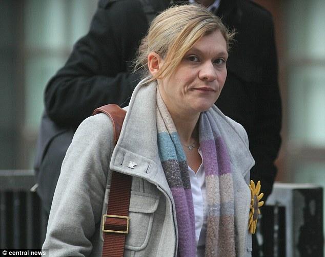 Devastated: Jane Sherriff, widow of Phillip Sherriff, at the Old Bailey