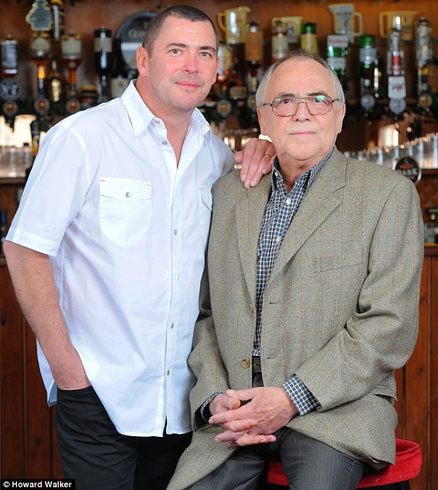Family comes first: One of the main reasons for Tarmey quitting Coronation Street in 2010 was to look after his son Carl, who is battling a life-threatening brain tumour