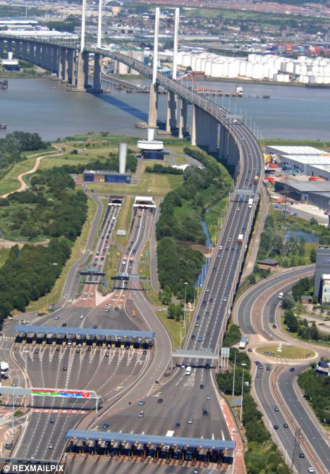 Mileage: automated toll booths would be 'primarily' for Dartford, implying they could be introduced elsewhere, imposing more costs on drivers