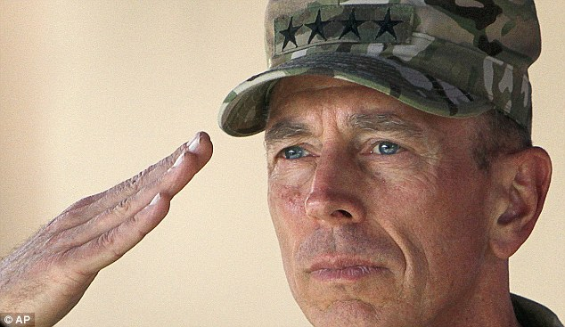 Glory Days: David Petraeus is America's best-known general and arguably the most consequential Army leader of his generation. Here he salutes troops in Afghanistan in 2011