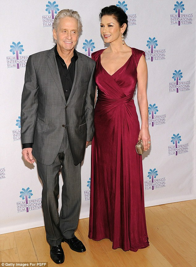 Kind-hearted couple: Michael Douglas and Catherine have been integral fundraisers and supporters of the children's hospital in Wales