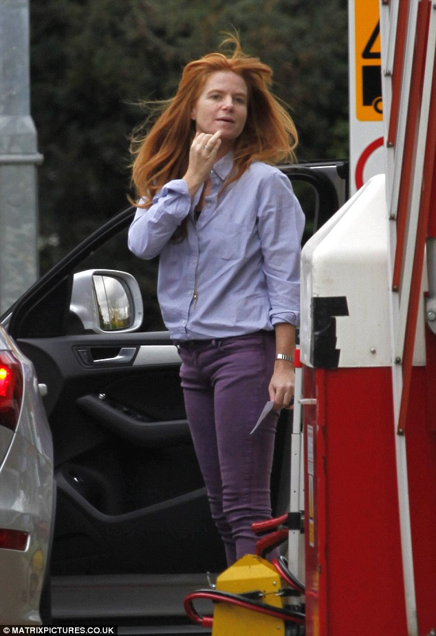Bianca is back: Patsy Palmer has returned to the hit BBC 1 soap, pictured here returning to work at Elstree studios