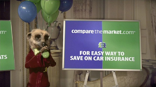 Success story: The man behind comparethemarket.com, with its ubiqutious meerkat adverts, featured in the list