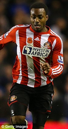 Controversy: O'Neill didn't wear a poppy during the match, unlike Danny Rose