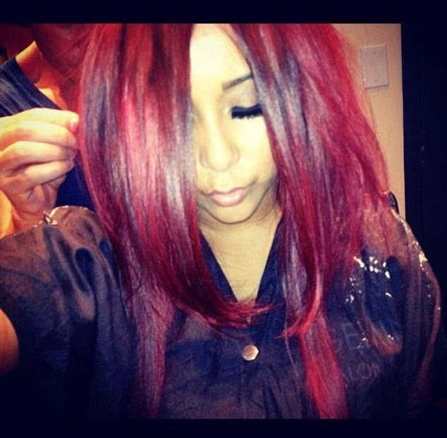 Reddy to go: Snooki Polizzi dyed her hair red on Monday citing comic book character Poison Ivy as her inspiration