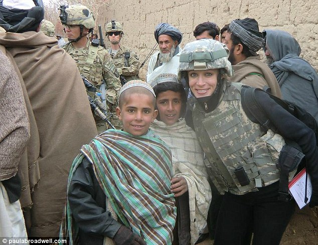 Indiscreet: Aides have said Paula Broadwell posted Facebook postings about her adventures in Afghanistan that crossed the line into potentially leaking sensitive operational details