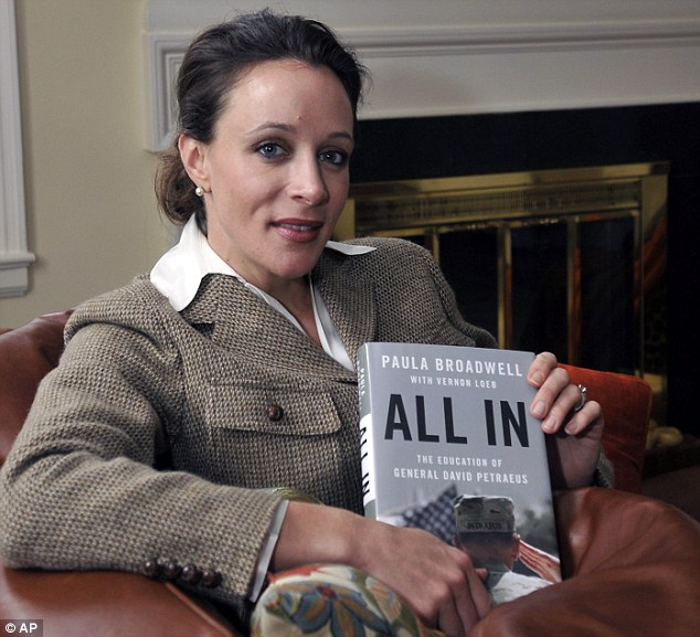 Intimidation: Broadwell was found to have sent harassing emails to Jill Kelley, a family friend of Petraeus
