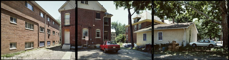 """City life: This is a neighborhood in Columbus, Ohio, seen in 1999, at N 40° 00' 00"""" W 83° 00' 00"""""""