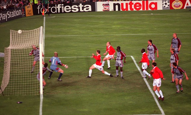 Another Fergie treasure: Ole Gunnar Solskjaer scpred Manchester United's winning goal against Bayern Munich in the 1999 Champions League final