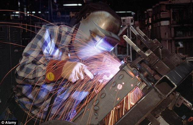Respect your welders: The profession has seen pay rise by 22.2 per cent in the past six years