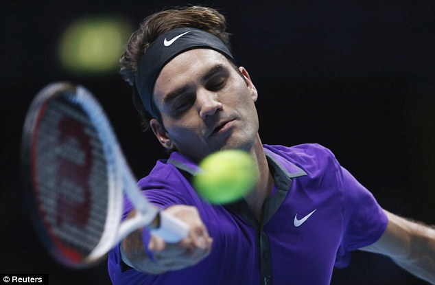 Popular: Federer has a huge following outside his native Switzerland