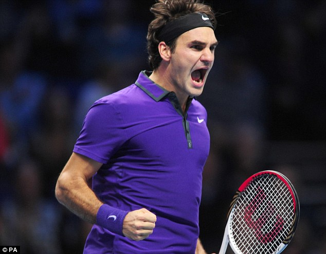The Fed Express: Federer beat Murray 7-6 7-2 in front of a number of his own fans, despite the match being in London