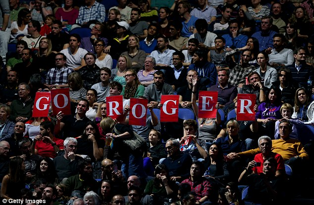 Basle-on-Thames: There was overwhelming support for Roger Federer at the O2 Arena on Sunday