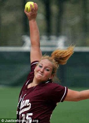 'Softball supremo': While at Fordham University, Nicole Ayres was 2007 Atlantic 10 Rookie of the Year.