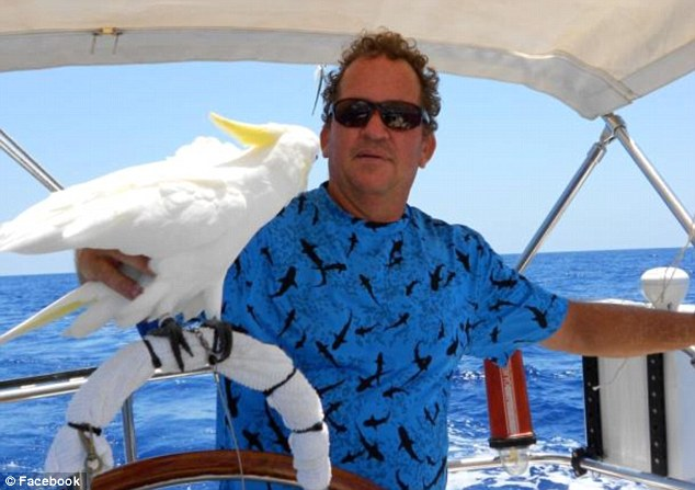 Death: Gregory Viant Faull who died in November. Authorities in Belize want talk to McAfee about his death