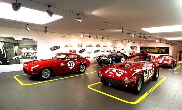 Classics: Five Pininfarina-designed Ferrari race cars from the 1950s and 1960s