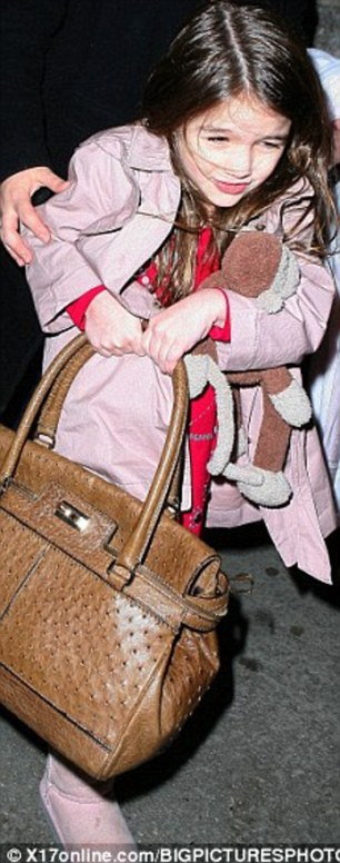 Young style icon Suri Cruise polled in at ninth place thanks to her mother Katie's fashionable outfit choices