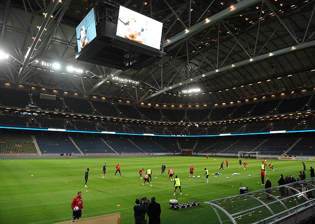 Grand opening: Wednesday's friendly takes place at the new Friends Arena in Stockholm