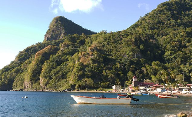Fisher Boats, Dominica, Caribbean Sea, Antilles
