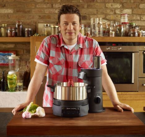 Research shows that cookery programmes hosted by chefs like Jamie Oliver (pictured) inspire many of us to have a go in the kitchen, they also make us more likely to pick sugary, fatty options when we do