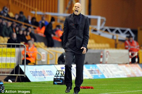 Shock: Stale Solbakken will be without his goalkeeper until next season