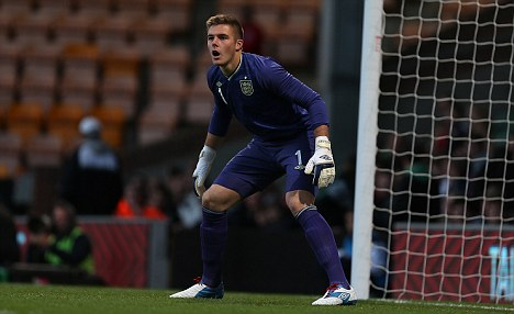 Heading out? Jack Butland could be sold by Birmingham
