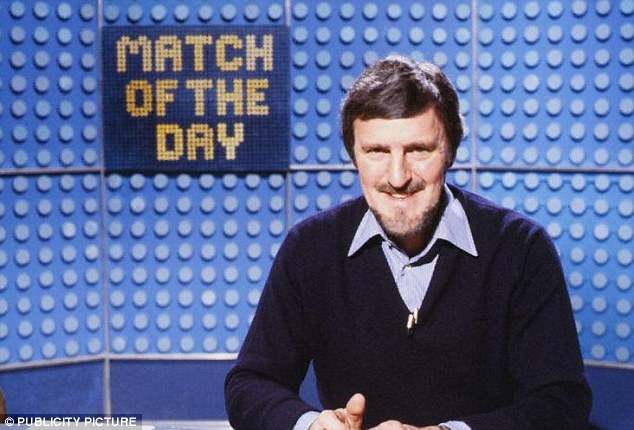 Front man: Jimmy Hill introduces an episode of Match of the Day in 1981