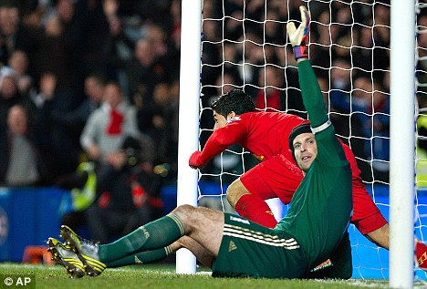 Hands up who wants this to end: Petr Cech wants closure on the row