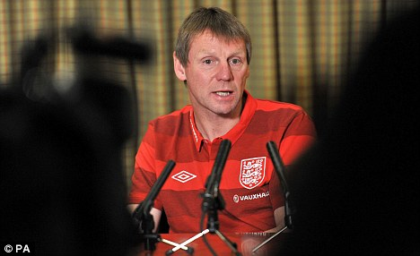 Uncertain future: Stuart Pearce does not know if he will be handed a new deal