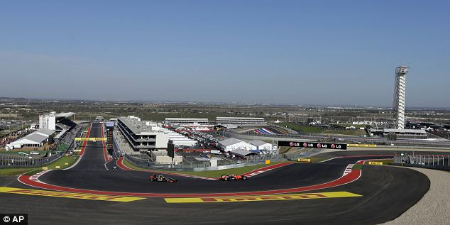 Daunting: The first turn at the Circuit of the Americas