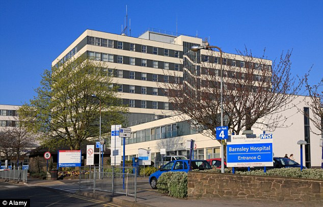 Apology: Barnsley Hospital is already underway with a thorough investigation