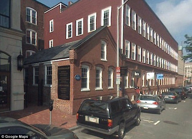 New home: Kappa Alpha Theta sorority's house is seen on the Harvard campus where she is said to often study