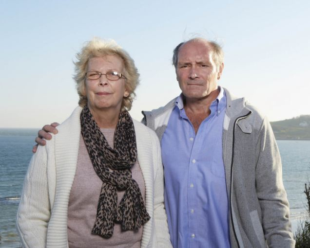 Bereft: Patsy and Derek Jones blame the drug for their son's death and have launched a campaign to try to get it banned