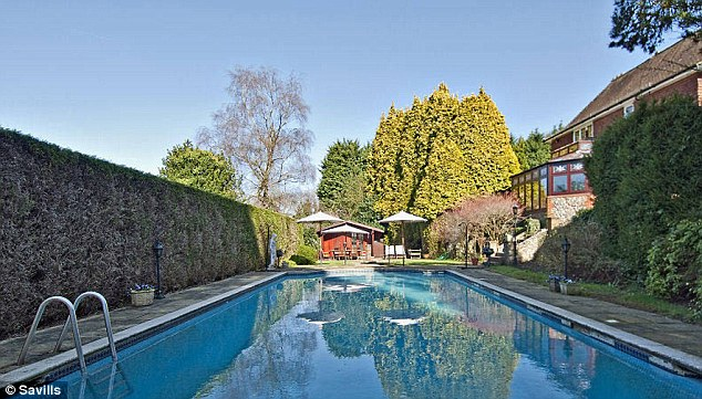 Luxurious: Kingsworthy House, home of Tory MP Helen Grant. It is just 19 miles from Parliament
