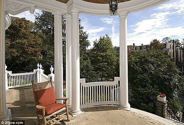 The beautiful property overlooks the Mount Pleasant district and has a checkered history in the civil rights movement