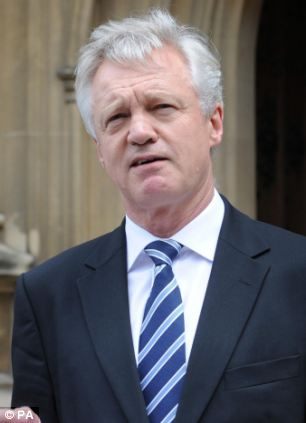 Tory MP David Davis today called for two votes two national votes - one to approve a list of powers for the UK to seek to seize back and then an in-out poll once they had been negotiated