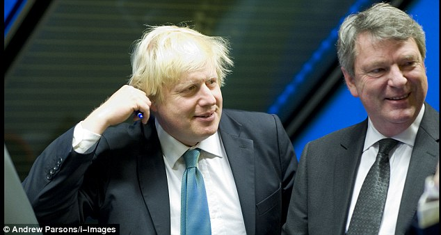 London Mayor Boris Johnson is highly complimentary about Mr Crosby and described him as 'the best campaign manager I've ever seen'