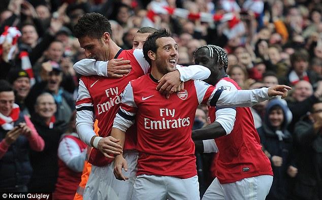 Five-star: Arsenal made light work of Spurs