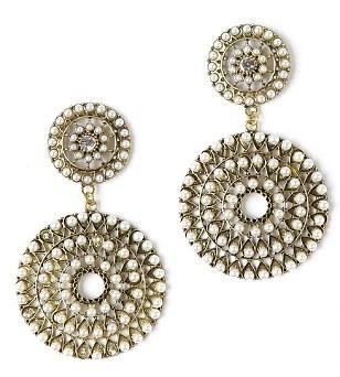Earrings, £5