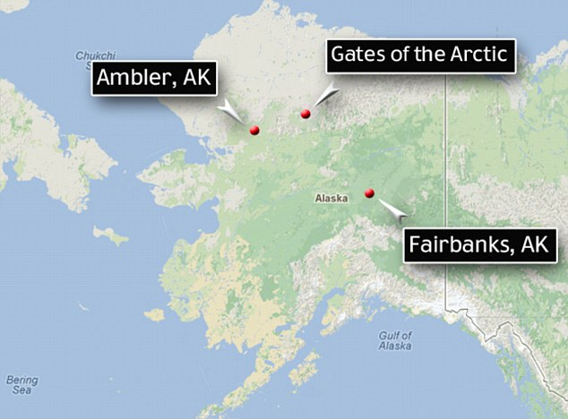 Travels: Seibold traveled north along the Tanana River and by September, he had reached the northwest village of Ambler. From there, he traveled 30 miles north to the cabin home of a woman who is believed to be the last person to see him
