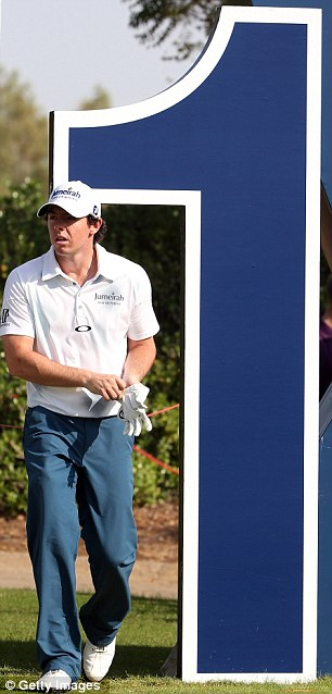 You said it: McIlroy is world No 1