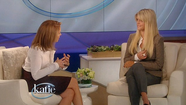 Remarkable recovery: Lauren Scruggs appeared on Katie today to discuss her recovery after a horrific propeller accident last year in Texas