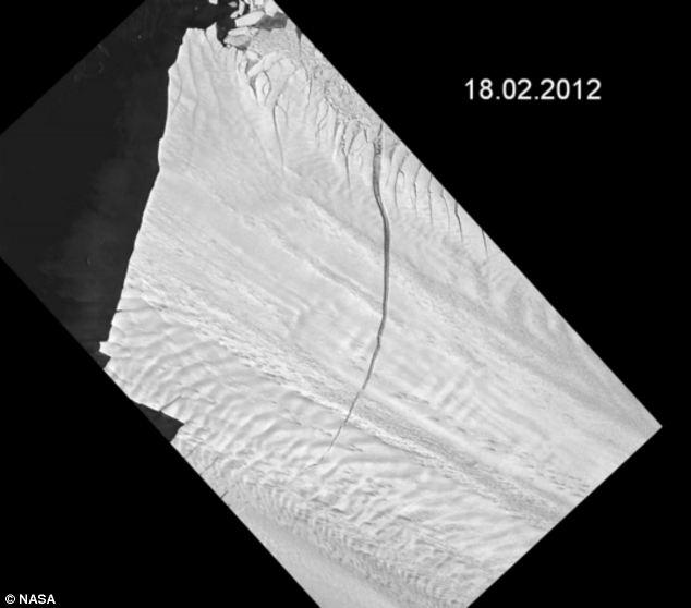 Researchers have monitored the glacier